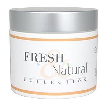 Fresh & Natural Skin Care Super Fruit Whipped Body Souffle Moisturizing Cream Lotion Goji Berry/Tarocco Orange 4 Ounce