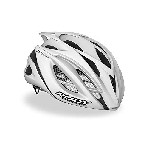 Rudy Project Racemaster - Casco de Bicicleta - Blanco Contorno de la...