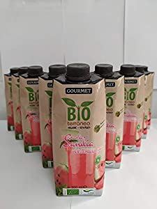 Bioterráneo   Zumo de Sandía Ecológico 100% Gourmet   Organic Watermelon Juice   Pack 10 Unidades 500 ml