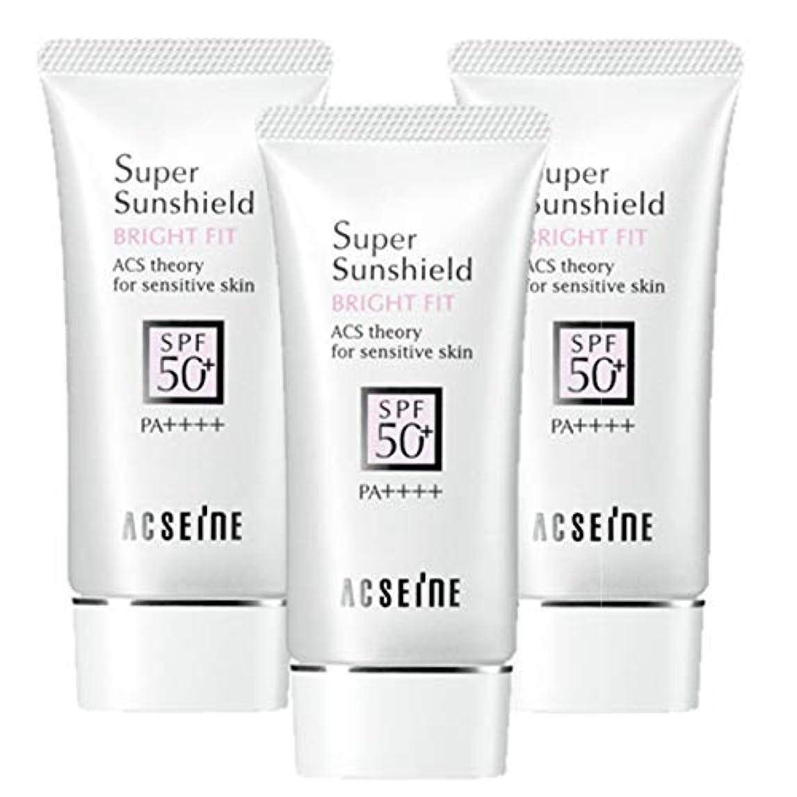 朝不安定ホスト【3本セット】アクセーヌ スーパーサンシールドブライトフィット《40g》