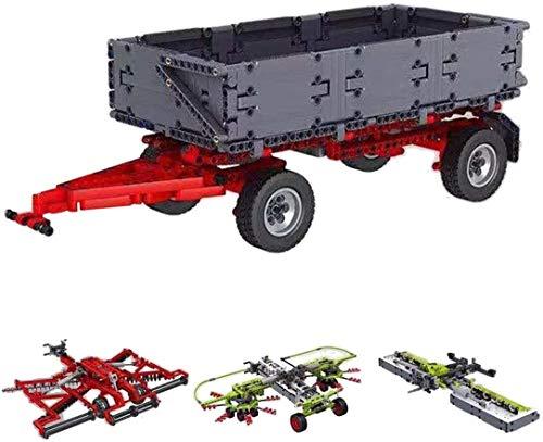 EBAT Technik Erweiterungskit für Mould King Technik Traktor 17019/17020 Kompatibel mit Lego Technik - 3098 Teile