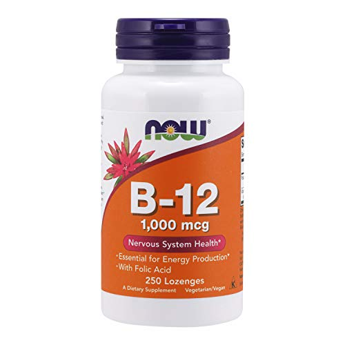 Vitamina B-12 1000mcg (250 Caps) Now Foods