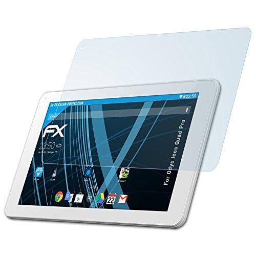 atFolix Schutzfolie kompatibel mit Odys Ieos Quad Pro Folie, ultraklare FX Bildschirmschutzfolie (2X)