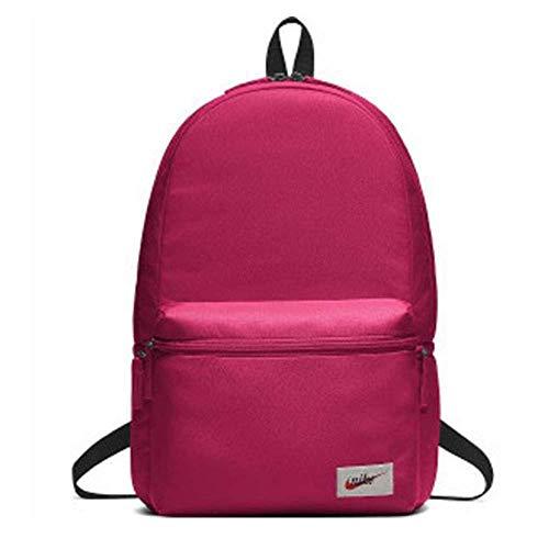 Nike Unisex-Erwachsene Nk Heritage Bkpk-Label Schultertaschen, Pink (Rush Pink/Black/Oran), 15x24x45 Centimeters (W x H x L)