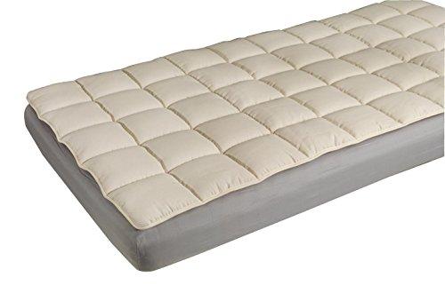 Traumina Extra Merino comfortpad 180 x 200 cm scheerwol