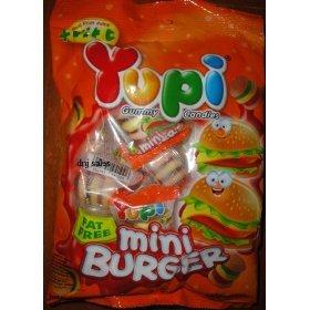 Yupi Gummy Candies Mini Under blast sales Burger Sweets Sealed of Thai New Save money Amazing