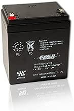 CASIL CA-1240 12V 4AH Security Alarm Battery Replaces 4Ah ADI Ademco 467