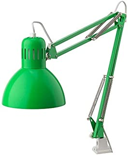 Classic Work Lamp. Adjustable Head with Directional Lighting, for Home Office or Drafting Table (Green)