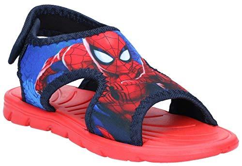 Spiderman Jungen Boys Kids Classic Sandals and Mules Riemchensandalen, Blau (Light Blue Navy 418), 33 EU