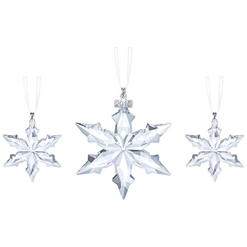 Price comparison product image Swarovski 2015 Annual Edition Christmas Star Ornament Set