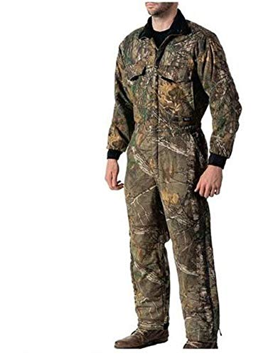 Walls Men's Camo Insulated Coverall, Realtree Edge, 8X Large