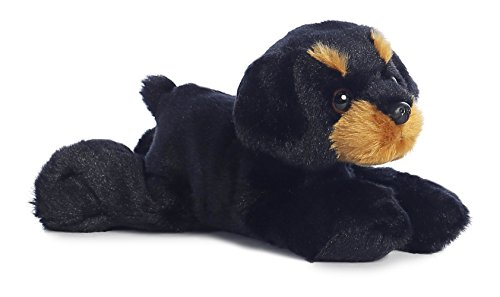Aurora - Mini Flopsie - 8' Raina, Black/Brown, Small (6-14 in)