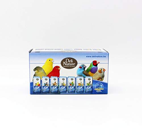 Deli Nature 10 Vogelschachtel klein 16x8,5x8,5cm Vogeltransportbox Vogelkarton