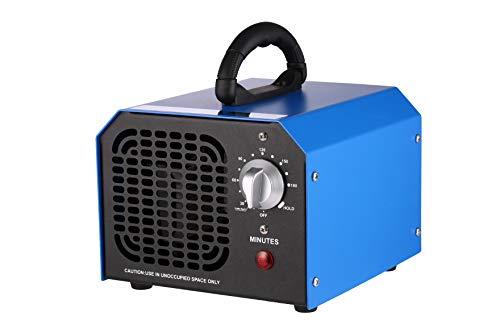 Sailnovo Ozongenerator Geruchskiller Ozongerät, 6g/Std Ozon Desinfektion Sterilisator Geruchsneutralisierer, Ozon Reiniger Luftreiniger Ionisator mit 3 Std Timer & HOLD für Autos Zimmer Haustier