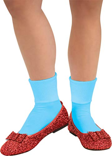 Rubie's Costume Co Wizard of Oz, Deluxe Adult Dorothy Sequin Shoes