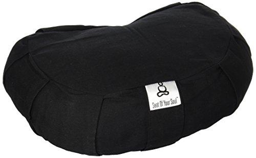 Seat Of Your Soul Buckwheat Meditation Cushion - 7 Colors & 3 Sizes Yoga Pillow: Round Zafu, Large...