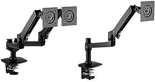 AmazonBasics Dual Monitor Arms with Single Monitor Arm