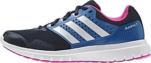 adidas Duramo 7, Zapatillas de Running Mujer, Azul (Collegiate Navy/FTWR White/Shock Blue), 38