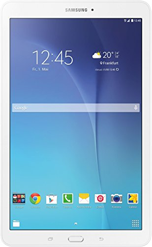 Samsung Galaxy Tab E 9.6 24,34 cm (9,6 Zoll) Einsteiger Tablet (1,5 GB RAM, 8 GB Interner Speicher, 3G/UMTS, Android 4.4) weiß
