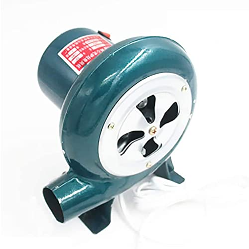 Kutra Soplador de Aire Eléctrico Centrífugo, Motor de Aire Profesional, Soplador de Forja de Herrero Eléctrico, para Trampolín Inflable de Castillo Inflable de Combustión de Barbacoa