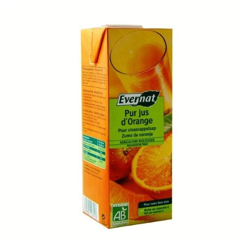 pas cher un bon EVERNAT – Pure Just Orange 1l.