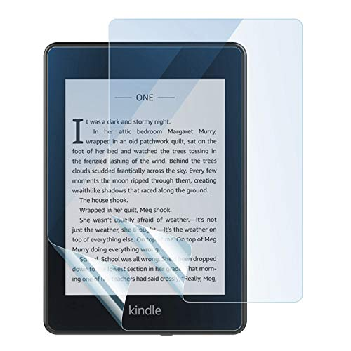 Dadanism Displayschutzfolie Ersatz für Kindle Paperwhite 10th Generation, 2018 Release, 2er Pack Anti Blue Light Eye Protect 4H Härte Anti-Scratch PET Schutzfolie für Kindle Paperwhite 2018 - Blau