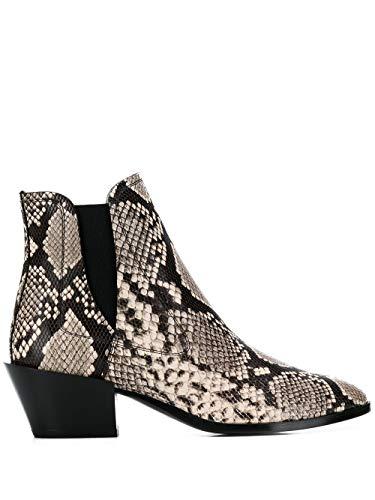Tod's Luxury Fashion Damen XXW94A0Z950THYC005 Grau Leder Stiefeletten | Herbst Winter 19