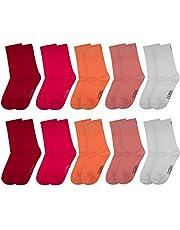OCERA 10 paia di calzini per bambini (unisex) in diversi colori