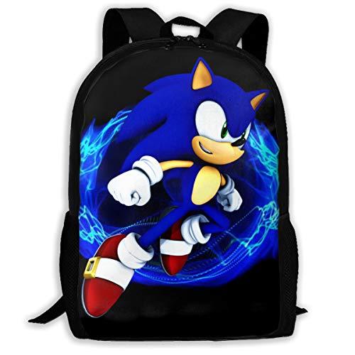 The Hedgehog Backpack Travel Bags Laptop...