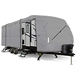 Leader Accessories Windproof Upgraded Travel Trailer RV Cover
