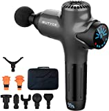 Massage Gun Deep Tissue Percussion Muscle Massage for Pain Relief, Super Quiet Portable Neck Back Body Relaxation Electric Drill Sport Massager Brushless Motor with 8 Attachment 7 Speeds Y8 Pro Max