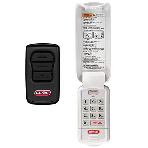 Buy Discount Genie Genuine Accessories Bundle - Includes GenieMaster 3-Button Garage Door Opener Rem...