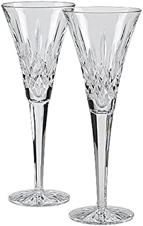 waterford stemware happy celebrations toasting flutes set of 2