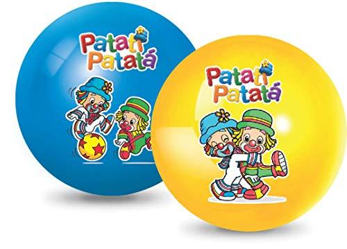 Bola Vinil Na Caixa Patati Patata, Lider Brinquedos - 1 (UM) ITEM SORTIDO SEM OPÇÃO DE ESCOLHA DE COR