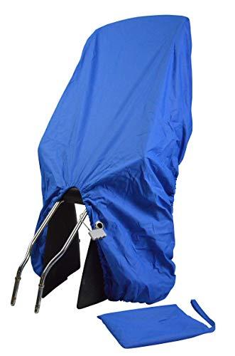 TROCKOLINO sicuro - Regenschutz für Fahrradkindersitz - blau