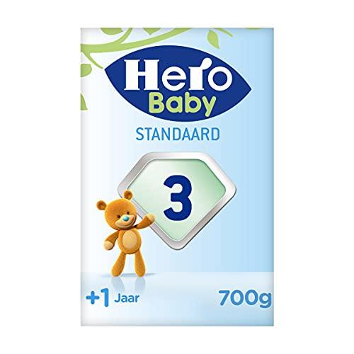 Hero Baby Peutermelk 3 (1+ jr) - 3 stuks - 2x350gr - Standaard - met Melkvet - Palmolie Vrij