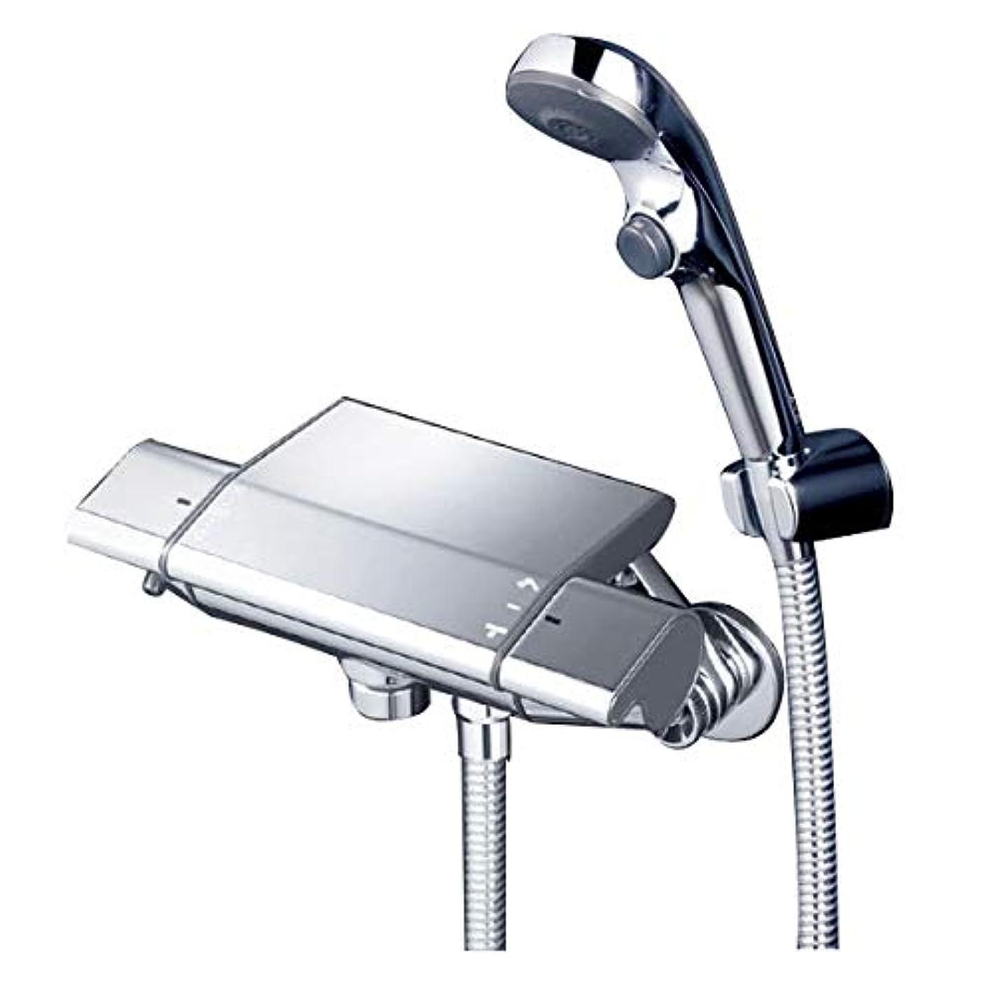 浸透する解決する誇張するKVK サーモスタット式シャワー混合水栓 ワンストップシャワー付 KF850WS2