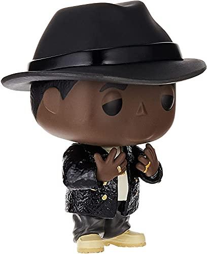 Funko - Pop Rocks: Biggie - Notorious B.I.G. Figura Coleccionable, Multicolor (45430)