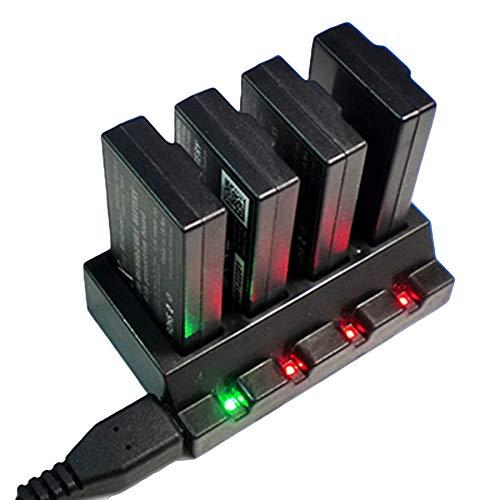 AVANI EXCHANGE 4-en-1 Cargador de batería USB Hub de Carga Paralelo para Parrot Minidrones Mambo Swing Rolling Spider