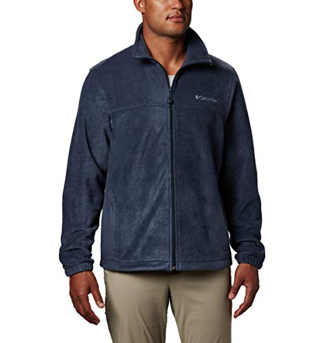 Columbia Men's Tall Size Steens Mountain Full Zip 2.0, Soft Fleece with Classic Fit, Collegiate Navy, XLT