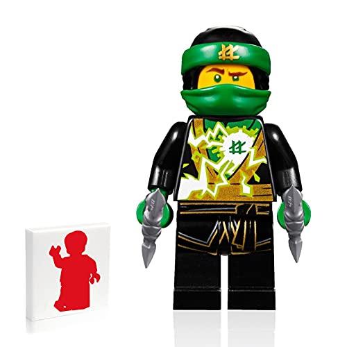 LEGO Ninjago Minifigure - Lloyd (Spinjitzu Masters) - Sons of Garmadon with Side Display 70640
