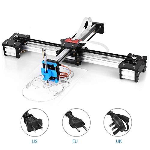 DONOTTAG. Metallo Disegno Robot Kit Desktop Multifunzionale Kit Fai da Te USB Plotter Penna Disegno Robot Disegno Macchina 100-240V Spina Britannica