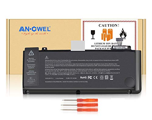 Kosiy Angwel A1322 Laptop Battery for MacBook Pro 13 inch A1322 A1278 (mid 2009 2010 Early 2011 Late 2012 Version) MB990LL/A MC374LL/A MC724LL/A