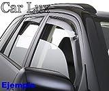 Car Lux AR03332 - Deflectores de Aire Cortavientos para ventanillas Coche Delanteros y Traseros C4 Grand Picasso para C4 Grand Picasso