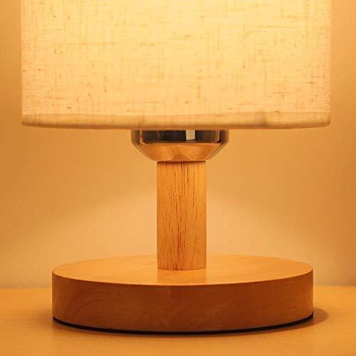 Idee, bedlampje voor de slaapkamer, Scandinavische tafellamp, paardenbloem A + 3 W LED_Power-knop