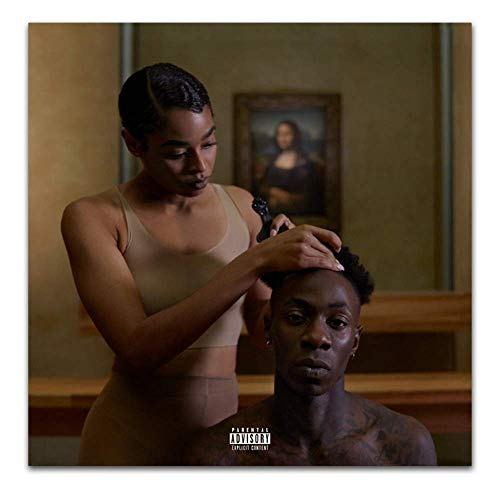The Carters 2018 Beyonce Cover Everything Is Love Art Poster Canvas Painting Home Decor50 * 50cm) -20x20 pulgadas Sin marco