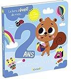 Le livre d'éveil de mes 2 ans – Livre à rabats – À partir de 2 ans
