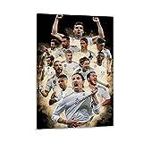 BABAQIQI Real Madrid 2021 Leinwand Kunst Poster und