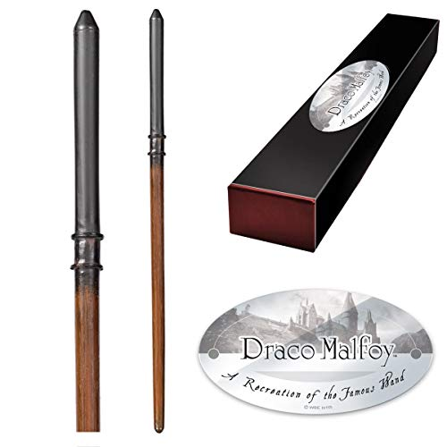 The Noble Collection Draco Malfoy Varita de personaje