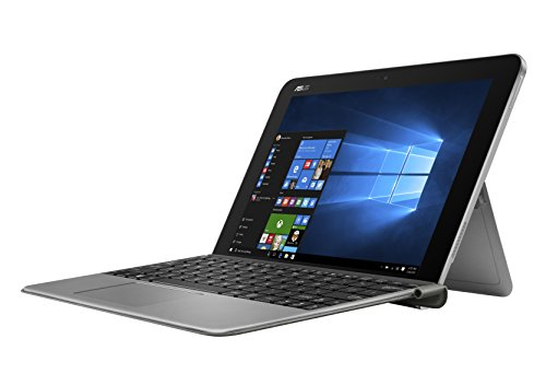 Asus T102HA-GR012T 25,6 cm (10,1 Zoll) Convertible Tablet-PC (Intel Atom x5-Z8350, 4GB RAM, 64GB eMMC, Intel HD Graphics, Win 10 Home) grau